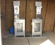 温泉販売機・温泉掛け流しシステム